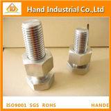 Tornillo Hex de alta resistencia inoxidable del acero M39X200 con la tuerca