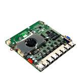Router& 방화벽 6 이더네트 포트 /J1900 쿼드 코어 처리기를 가진 산업 소형 Itx 어미판