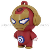 USB Flash Drive Cuty Iron Man PVC (UL-PCV016)