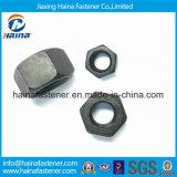 Noix Hex noire de la surface A194 de qualité