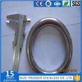 Roestvrij staal SS304 of Ss316 om Ring wordt gelast die