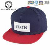 Chapeau chaud de Strapback de couleur de marine de la vente 2016 avec la broderie 3D
