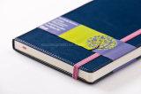 Cuaderno americano de Moleskine del estilo de la alta calidad con la costura de cuerda de rosca
