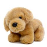 Stuk speelgoed van de Hond van de Retriever van de pluche het Gouden, het Speelgoed van de Pluche van de Douane