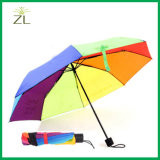 """جيّدة يبيع بالتفصيل مواد 21 """" رخيصة دولار مخزن ثني ترقية مظلة مع علامة تجاريّة طباعة"""