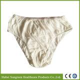 Culottes remplaçables de coton de qualité pour l'hôtel/usage de déplacement