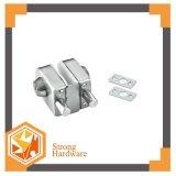 二重ガラスドアロックを滑らせるステンレス鋼Frameless
