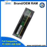 Навальный RAM 4GB DDR3 памяти упаковки 256mbx8 16c Unbuffered