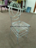 Gelo de cristal da elegância instantânea que empilha a cadeira de Phoenix (LL-0060D)