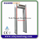 Grille multi approuvée de détecteur de métaux de cadre de porte de zone de la CE bon marché
