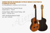 Гитара формы Cutway конструкции сбор винограда Aiersi твердая верхняя электрическая классическая (Sc02arce)