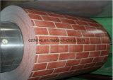 Rol van het Staal van de baksteen de Kleur Met een laag bedekte