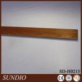 Suelo de madera de grano Parquet Suelo de porcelana compuesto Suelo de interior