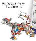 Rompecabezas Jigsaw del papel 3D del modelo de la robusteza de Movice