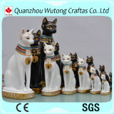 Estatuilla afortunada antigua al por mayor del gato de los productos de Egipto Feng Shui
