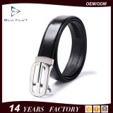 Umschaltbare Brücke-Stahlmetallfaltenbildung-Leder-Mann-Riemen