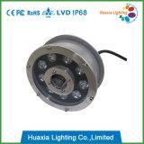 9W 160mmの直径LEDの水中ライト、LEDの噴水ライト