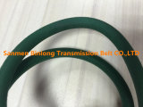 Orange glatter PU-Polyurethan-runder Riemen/V-GürtelKraftübertragung-Riemen