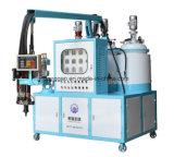 Máquina que hace espuma de los apoyabrazos de la piel de Intergral