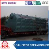 Caldaia a vapore infornata carbone orizzontale industriale del Doppio-Timpano di 20 T/H-1.6MPa