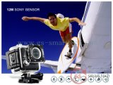 Sport video wasserdichtes DV der Kreiselkompass-Antierschütterung-Funktions-ultra HD 4k des Sport-DV 2.0 ' Ltps LCD WiFi