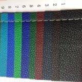 cuero de la PU del sintético de 0.5m m para los casos del conjunto