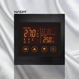 Marco de acrílico del interruptor del tacto del termóstato de la calefacción por el suelo (SK-HV100L8-L/m)