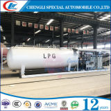 Réservoir mobile du poste d'essence de 5ton LPG 10ton LPG avec le dérapage