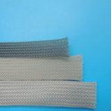Sleeving UL 150c огнестойкости заплетенный полиэфиром/Sleeving любимчика расширяемый
