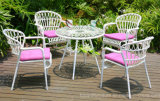현대 정원 여가 가구 안뜰 다방 바 뒤뜰을%s 2+1의 작은 술집 등나무 고리 버들 세공 테이블 의자