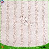 Poliester tejido materia textil casera que cubre la tela impermeable de la cortina del apagón del franco