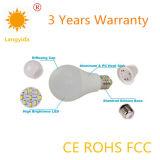 Bulbo elevado da economia de energia da eficácia da luz de bulbo do melhor vendedor 9W