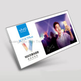 Kundenspezifischer Aluminiumim freien LED dünner Schnellrahmen-heller Kasten der bildschirmanzeige-