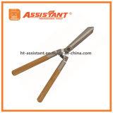 As tesouras de poda da ferramenta de jardim forjaram tesouras da conversão com punhos de madeira