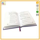 Impression polychrome de livre de livre À couverture dure fait sur commande avec A4/A5