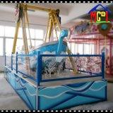 遊園地のためのクレイジーなゲーム氷の海賊ボート