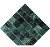 Azulejo de mosaico de piedra de mármol verde de China para el azulejo de la pared del techo del suelo (FYSC342)