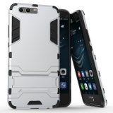 Heißer verkaufeneisen-Mann Kickstand Telefon-Kasten für Huawei P10 plus