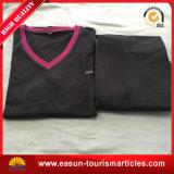 Stutzen-T-Shirt des Entwurfs-Farben-Kombinations-Polo-V