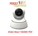 マイクロSDのカードスロットが付いている屋内プラグアンドプレイカメラ720pの夜間視界のWiFi IPのカメラ