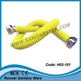 S/S gewölbter flexible Gas-Schlauch mit gelbem Kurbelgehäuse-Belüftung (H02-103)