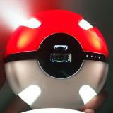 Верхний продавая крен силы шарика форменный 10000mAh Pokeball Pokemon продуктов