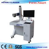 Máquina de la marca del laser de la fibra de la cubierta del teléfono