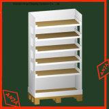 Le plus récent design Wood Flooring Shop Display Book Racks
