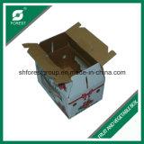 PVC Windowsが付いている波形のフルーツの包装紙ボックス