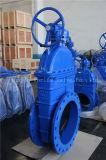 Valvola duttile flangiata della paratoia del ferro per acqua (Z45X-10/16)