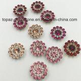 2017 het Nieuwe naait Plaatsen van de Klauw van de Bloem van de Kristallen Swaro van de Aankomst In het groot 9mm Losse op de Parels van het Glas (de ronde van de champagne van tP-9mm)