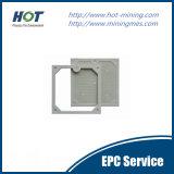 Hochdruck-pp.-automatische Raum-Filterpresse-Platte