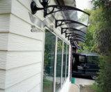 écran/tente/couverture/abri de polycarbonate de Transparance de biens de 800X1200mm pour le guichet (YY-N)
