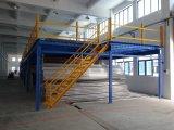 Assoalho estrutural de aço pré-fabricado útil de Mezzaninel